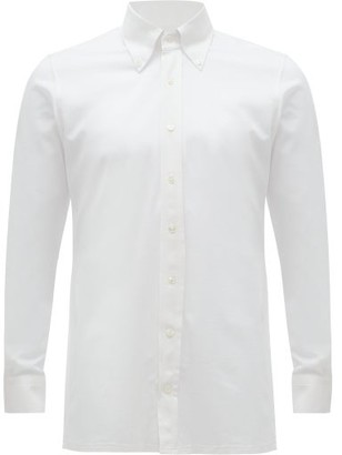 Thom Sweeney - Button-down Collar Cotton-oxford Shirt - White