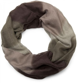 styleBREAKER tube scarf snood with striped colour gradient pattern unisex 01018097