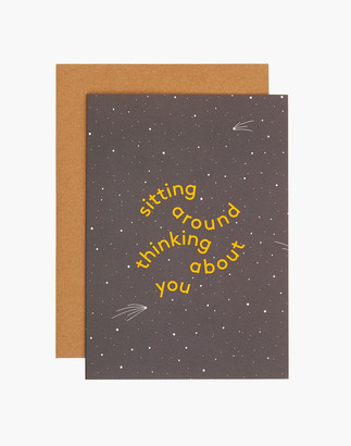 Madewell grl & co. Thinking About You Greeting Card