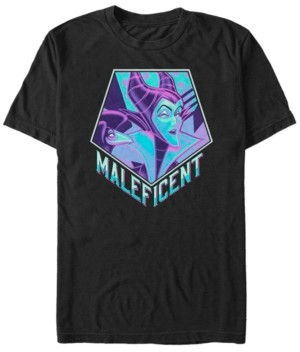Disney Men's Sleeping Beauty Maleficent Pop Art, Short Sleeve T-Shirt