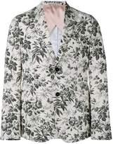 Gucci tailored floral blazer