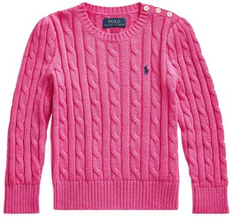 Ralph Lauren Kids Cable-Knit Sweater (7-14 Years)