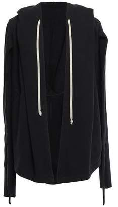 Rick Owens Draped Cotton-fleece Sweatshirt
