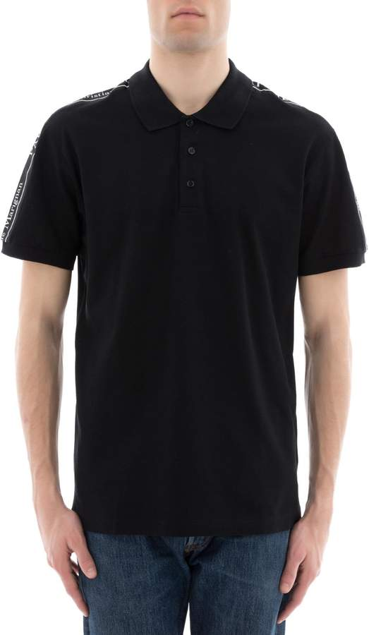 Christian Dior Black Cotton Polo