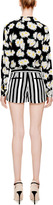 Tibi Woven Striped Shorts