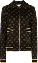 Gucci GG pattern zip-up cardigan