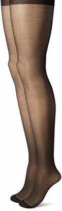Pretty Polly Women's Plus Size Gloss Tights 2PP