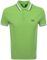 BOSS GREEN Paddy Polo T Shirt Green