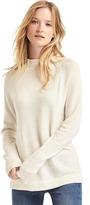 Gap Merino wool blend mock neck sweater
