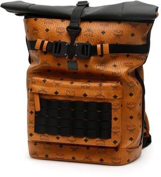 MCM Roll-top Visetos Backpack