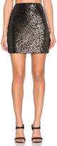 1 STATE Sequin Mini Skirt