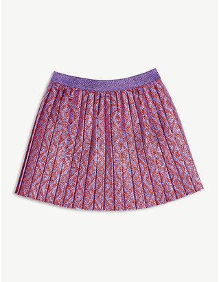 Gucci Lurex logo mini skirt 6-12 years