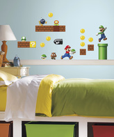 Nintendo Super Mario Build a Scene Decal Set