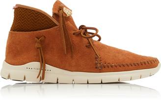 Visvim Tasseled Suede Sneakers