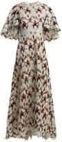 Giambattista Valli Floral macramé-lace gown