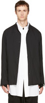 Nude:mm Black Button-Up Shirt