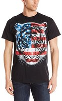 Liquid Blue Men's Patriotic Tiger T-Shirt