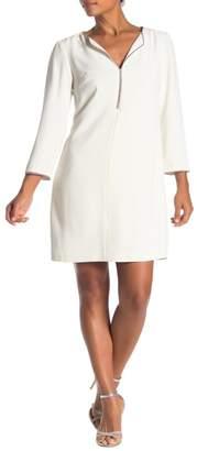 Trina Turk Liqueur Embellished Trim Dress