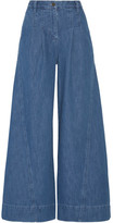 Ulla Johnson Lange High-rise Wide-leg Jeans