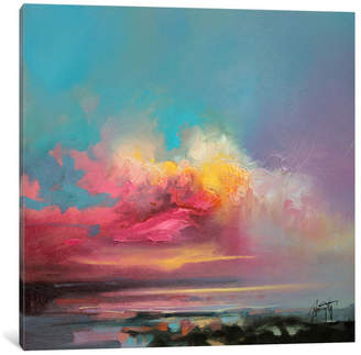 "STUDY Kroto Fine Art ""Cumulus Consonance II"" by Scott Naismith, 26""x26"""