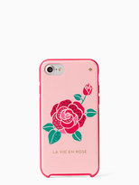 Kate Spade Jeweled la vie en rose iphone 7