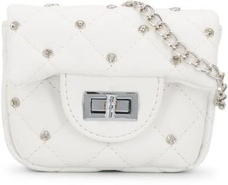MonnaLisa Stud Embellished Shoulder Bag