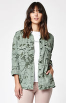 Obey Charlie Camo Print Military Jacket
