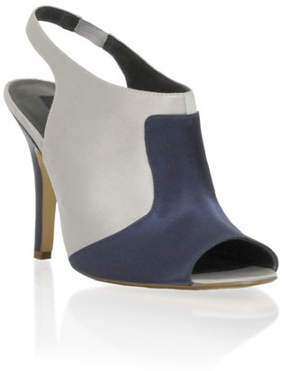 Asos Design Peep Toe Slingback High Front Sandal