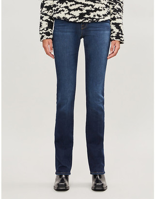 Frame Le Mini Boot straight high-rise jeans