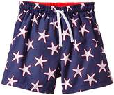 Archimede Boy's A516571 Boxer Starfish Animal Print Swim Shorts