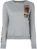 Valentino embroidered sweatshirt - women - Cotton/Polyamide/Polyester - S