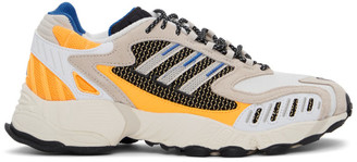 adidas Black and White Torsion TRDC Sneakers