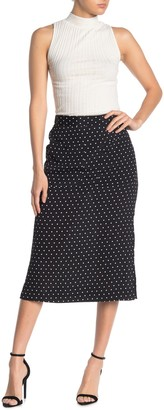 Elodie K Patch Pocket Pull-On Midi Skirt