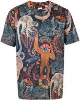 Paul Smith animal print T-shirt - men - Cotton - XS