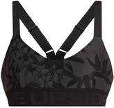 The Upside Bamboo-print performance bra