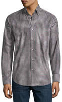 Neiman Marcus Medium Gingham Sport Shirt