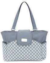 Carter's Geo Diamond Carry It All Tote Diaper Bag in Grey