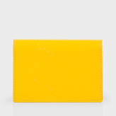 Paul Smith No.9 - Yellow Patent Leather Credit Card Wallet