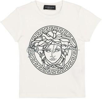 Versace Kids Medusa stretch-cotton T-shirt