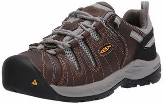 Keen Women's Flint II Low Steel Toe Non Slip Work Shoe Construction Boot