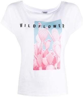 Liu Jo cactus print T-shirt