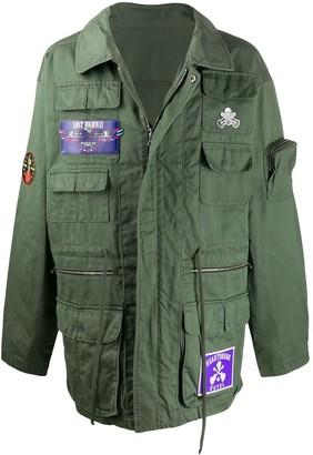 Alchemist Multi-Pocket Shirt Jacket