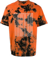 Alexander Wang bonded barcode T-shirt - men - Cotton - 42