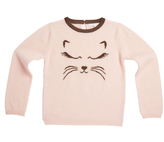 Marie Chantal GirlsCat Cashmere Sweater