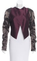 Haider Ackermann Collarless Long Sleeve Jacket w/ Tags