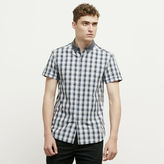Kenneth Cole New York Plaid Button-Front Shirt