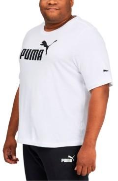Puma Big and Tall Men's Logo T-Shirt