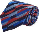 Duchamp Geometric Crescent Tie