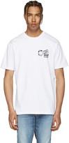 Vans White Taka Hayashi Edition 'Scene Meow' T-Shirt