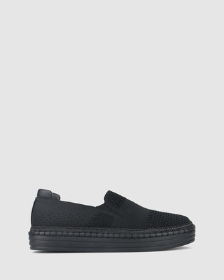 betts Tilly Rope Trim Sneakers